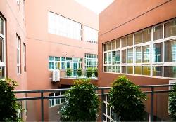 B区教室廊道